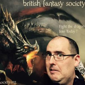 I had a great time at FantasyCon. And no, this is not my muse.